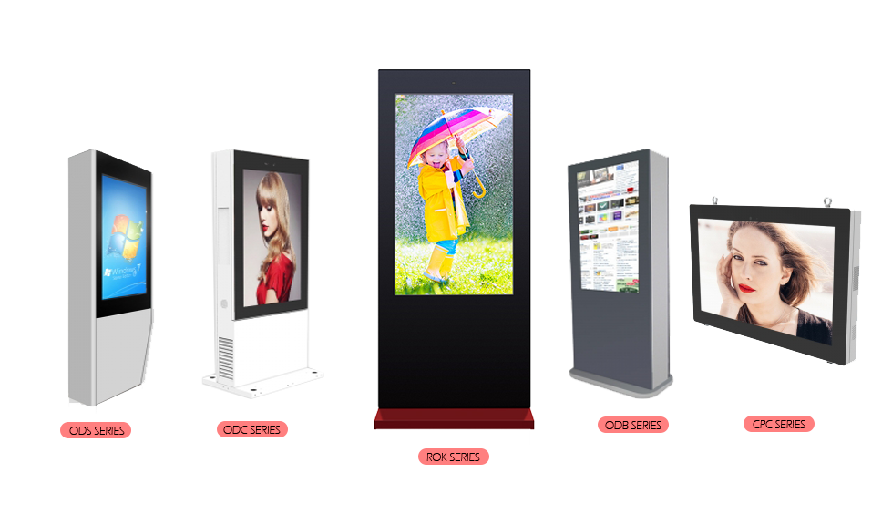 Outdoor Floor Standing Kiosk